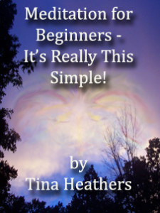 meditation ebook cover by Tina Heathers