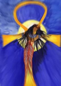 Spirit Art Print by Tina Heathers
