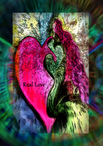Real Love art card by Tina Heathers